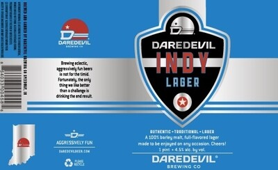 Indy Lager 1/6 bbl