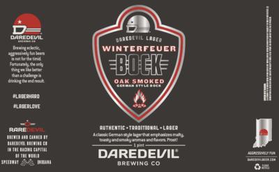 Winterfeuer Oak Smoked Bock 1/6 bbl