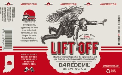 Lift Off IPA 1/6 bbl
