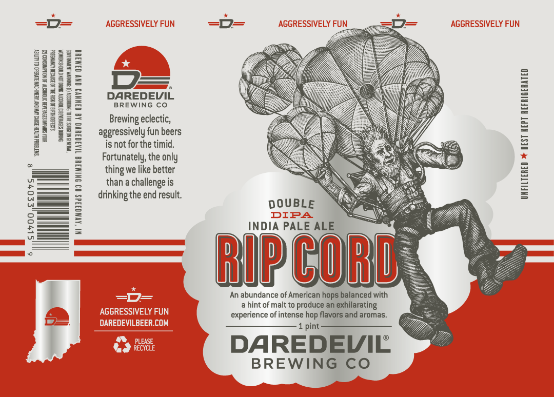 Rip Cord DIPA 1/6 bbl