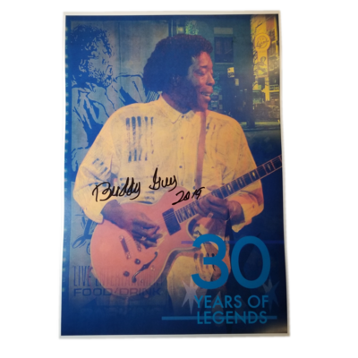 30 Years of Legends - Signed by Buddy Guy