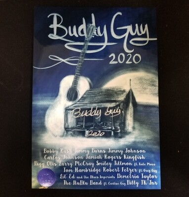 Fine Art Print: January 2020 Limited Edition Alternative Poster - signed by Buddy Guy