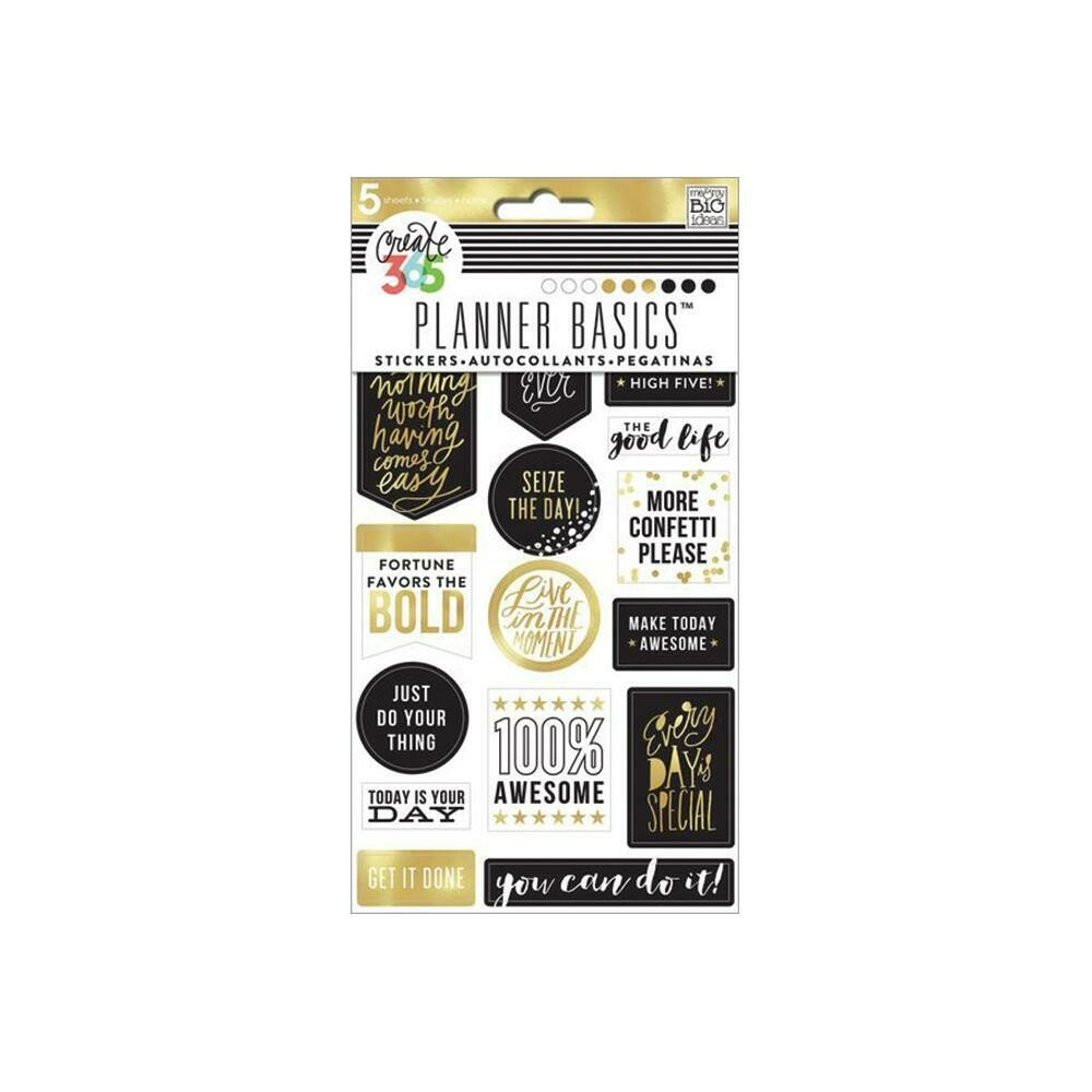 MAMBI Create 365 planner stickers (seize the day theme)