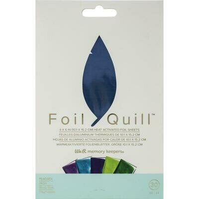 Peacock WRMK Foil Quill Foil Sheets 4