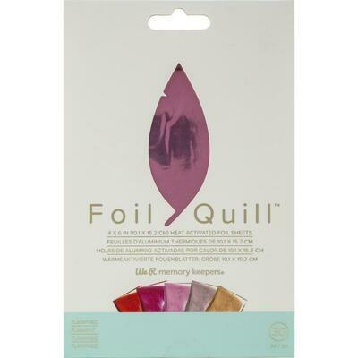 Flamingo WRMK Foil Quill Foil Sheets 4