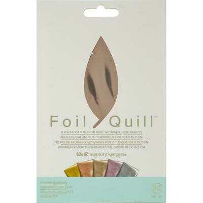 Shining Starling WRMK Foil Quill Foil Sheets 4