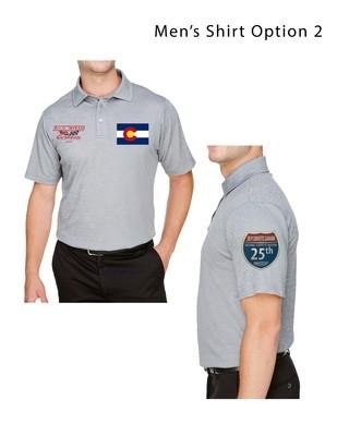 Men's Crown Luxe Polo Short Sleeve