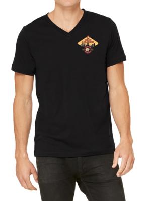 Unisex 100% cotton t-shirt - VNECK