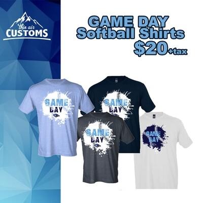 2019 Softball Game Day Shirts