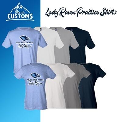 RRHS Lady Raven Practice Shirts