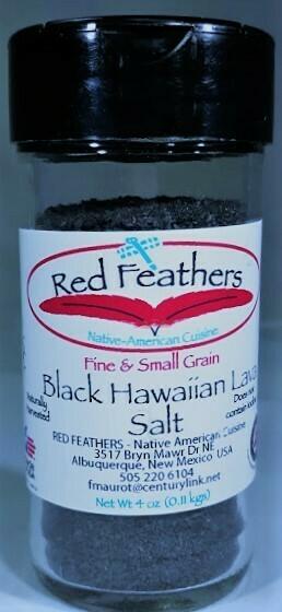 Margarita Black Lava Salt, Plain 4 oz