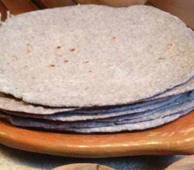 Blue Corn Wheat Flour Tortilla