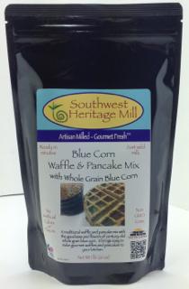 Blue Corn Cinnamon Waffle and Pancake Mix
