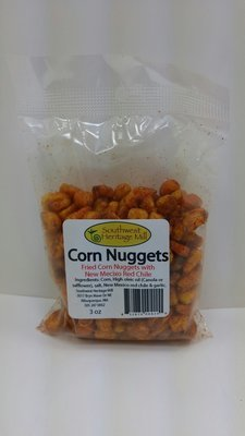 Corn Nuggets Red Chile