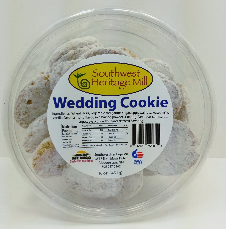 Wedding Cookies Tub