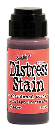 TIM HOLTZ DISTRESS STAIN ABANDONDED CORAL