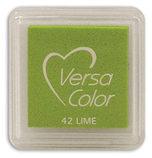 "VERSA COLOR LIME INK PAD  1""X1"""