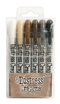 TIM HOLTZ DISTRESS CRAYONS SET #3