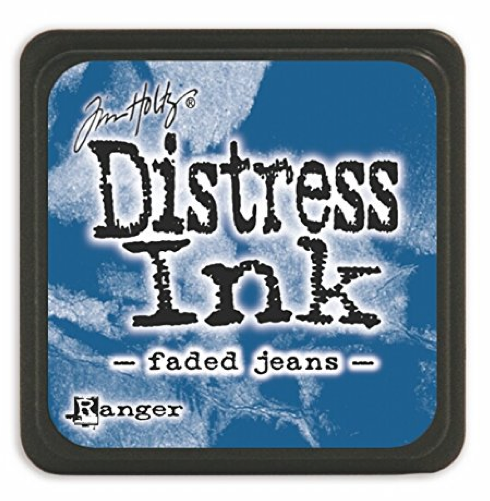 TH MINI DISTRESS INK FADED JEANS