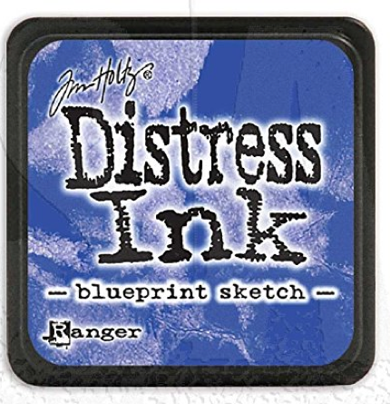 TH MINI DISTRESS INK BLUEPRINT SKETCH