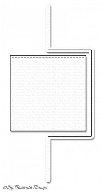 MFT DIE-NAMICS FLOR CARD-SQUARE