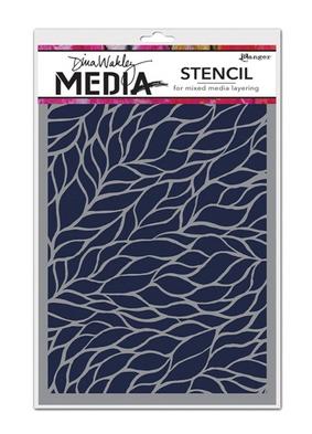 DINA WAKLEY MEDIA STENCIL 9