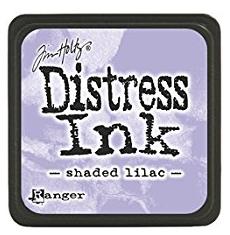 TH MINI DISTRESS INK SHADED LILAC