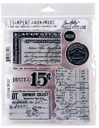 STAMPERS ANONYMOUS TIM HOLTZ  CLING RUBBER STAMP ETCETERA