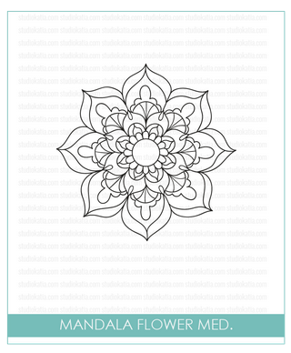 STUDIO KATIA MANDALA FLOWER STAMP