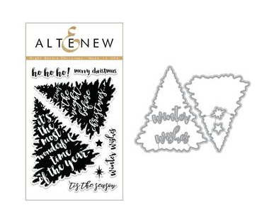 ALTENEW NIGHT BEFORE CHRISTMAS STAMP AND DIE SET