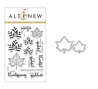 ALTENEW WITH GRATITUDE  STAMP AND DIE  SET