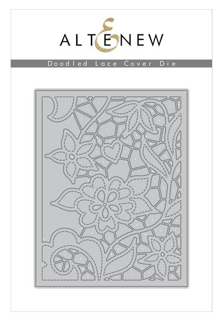 ALTENEW DOODLED LACE COVER DIE