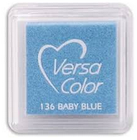 "VERSA COLOR BABY BLUE INK PAD  1""X1"""