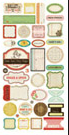 CRATE PAPER  RESTORATION COLLECTION DESIGNER JOURNAL AND TITLE STICKERS