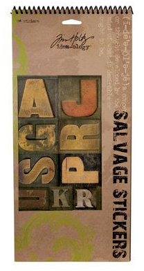 TIM HOLTZ SALVAGE STICKERS SALVAGE STICKERS