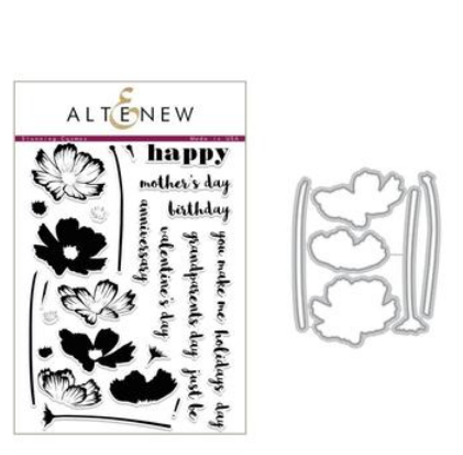 ALTENEW STUNNING COSMOS  STAMP AND DIE SET