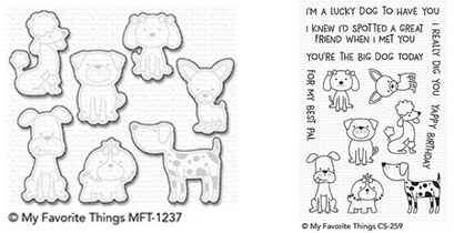 MFT CANINE COMPANIONS STAMP AND DIE SET