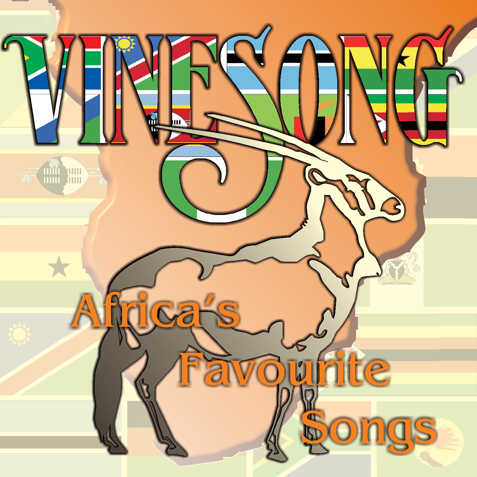 Africa's Favourite Songs CD1401A