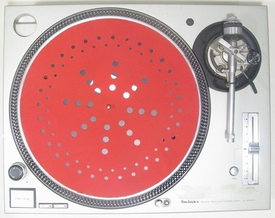 Aerodynamic 12 inch Slipmat 2017 edition