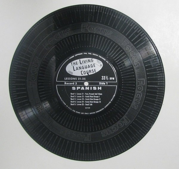 "​  10"" Black Custom Engraved / Textured Control Record for the Phase, Rane 12mk1 or Numark CDX"