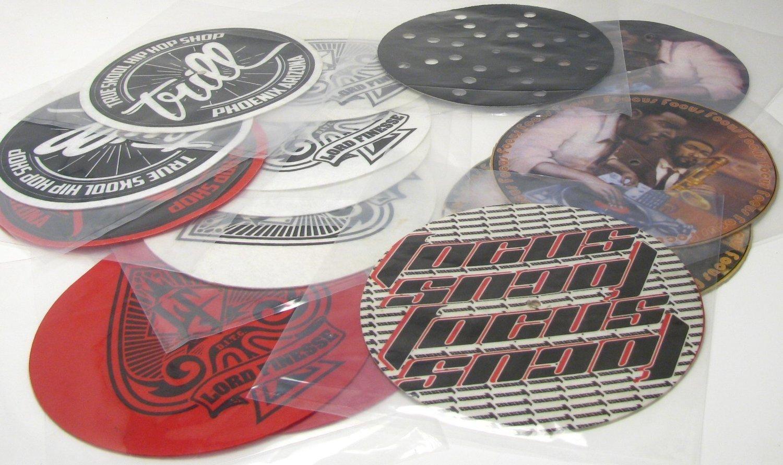 "7"" Custom Printed Slipmat ( 1 Piece )"