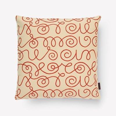Maharam Names Pillow by Alexander Girard