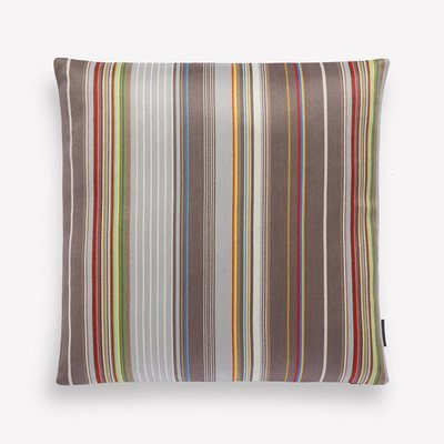 Maharam Sequential Stripe Pillow by Paul Smith