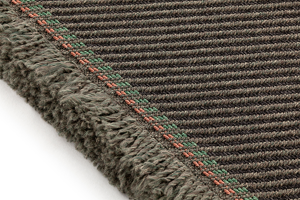 GAN Garden Layers Diagonal Rug