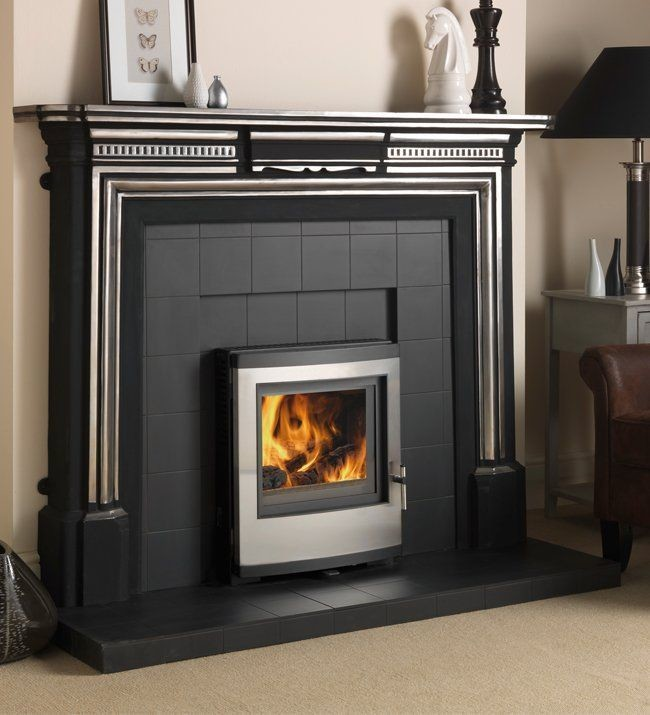 Esse Stoves 301 5kw Insert Room Heater Stove With Stainless