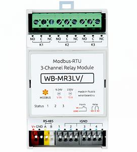 Modbus-RTU Relay Module (WB-MR3) 00134