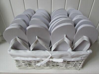 Wedding Flip Flops Basket
