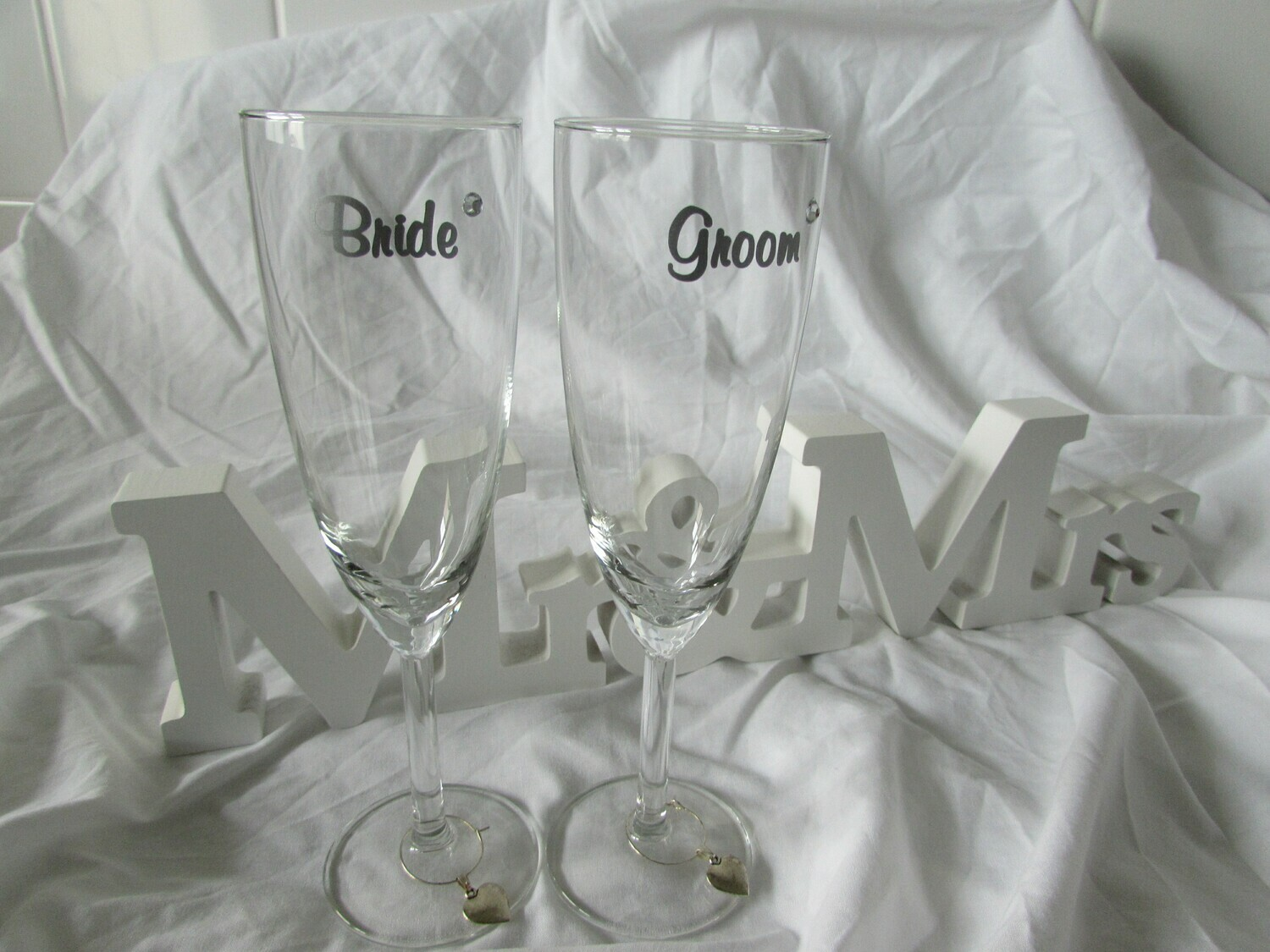 Personalised Champagne Flutes Pack Two