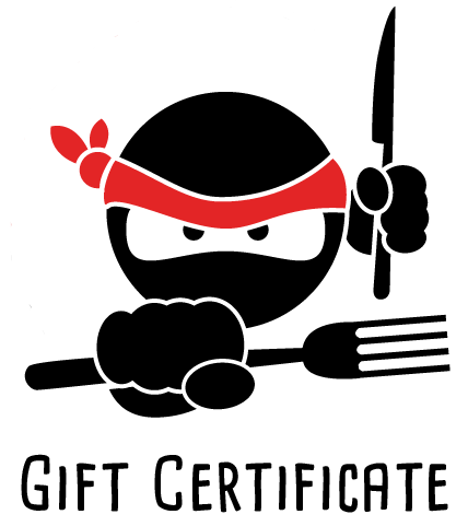 Gift someone Hungry Ninja