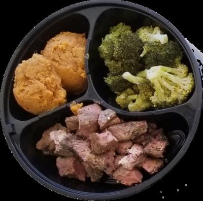 Custom Sirloin Steak Meal